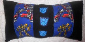 Transformers Pillow by Sophillia
