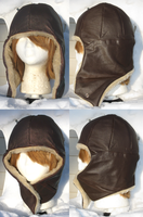 Leather Avaitor Hat by clearkid