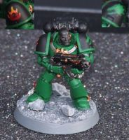 Salamanders 4th Company Tactical Marine by Halat