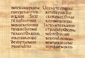 Codex Claromontanus - Saint Matthieu by Errance