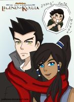 MaKorra Smile for the Camera by justixoxo
