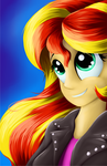 Sunset Shimmer by Grennadder