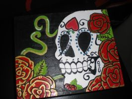 - Sugar Skull Jewel-Case - by theFraffra