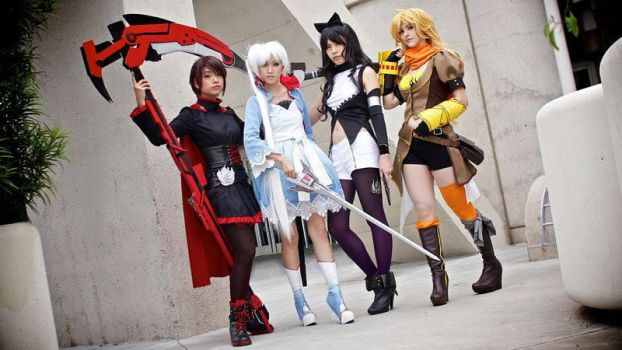 RWBY Cosplay - SDCC 2013 by JFamily