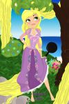 Tangled Rapunzel by kbuscus