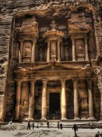 Petra - HDR by AfroAfrican