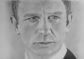 daniel craig by gypsytoast