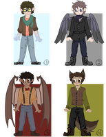 Male Fantasy Point Adoptables =OPEN= by StarryEvening