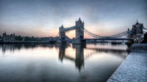 Tower Bridge - Between Day and Night by Spyder-art