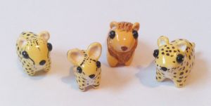 My miniature safari: big cats by RoOsaTejp