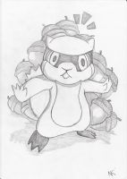 Patrat: don't touch the nuts by Magibu