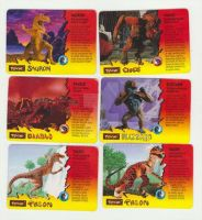 Primal Rage Cards from the Toys by ESJBond007