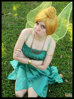 Tinkerbell with an Attitude (Cosplay) by KrazyKari