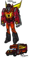 TF Generation One - Rodimus Prime by KrytenMarkGen-0