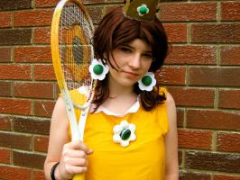 Mario Power Tennis: Daisy by IiSiNsAnE