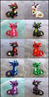 Micro Dice Dragons by DragonsAndBeasties