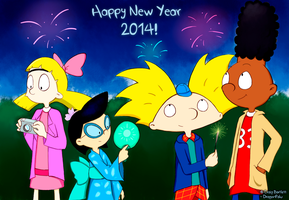 Hey Arnold! 2014 by Kuryel