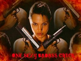 one sexy bad ass chick by MrsReneau