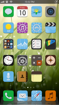 Flaterize - An iPhone icon set replacement by deckedsg