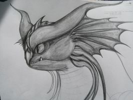 How to Train Your Dragon 2 CloudJumper Draw by NIGHTFURY18