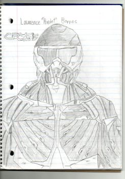 Laurence 'Prophet' Barnes (Crysis 3) by spiral6sm