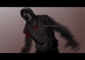 Left 4 dead - Hunter by betti357