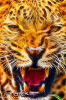 Angry Leopard: Fractalius Re-Edit by nerdboy69