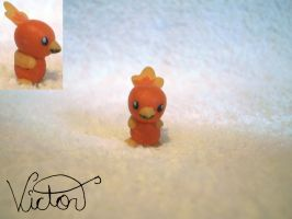 255 Torchic by VictorCustomizer