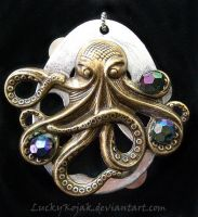 Steampunktopus by LuckyKojak