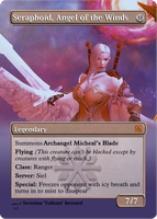 Angel of the Winds  - Card by Seraphoid
