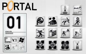 Portal icons Set 01 v.1 by CountAmber