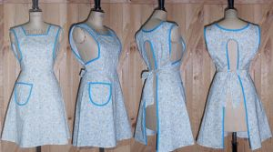 1940s pinny by Janes-Wardrobe