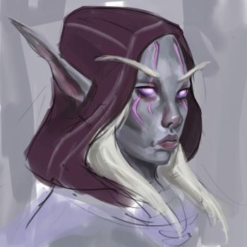 First Arcanist Thalyssra by Nuxxe