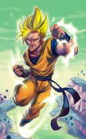 Sangoku Collab by 3nrique