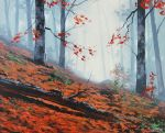 Forest Leaves by artsaus