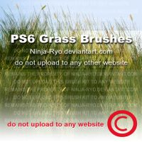 PS6 BRUSHES - Grass by Ninja-Ryo