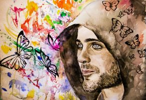 Jared Leto by kichinez