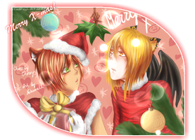 Donat and Korney +Merry Xmas+ by Cheroy