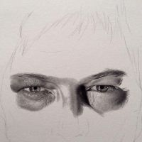Norman Reedus WIP by PriscillaW