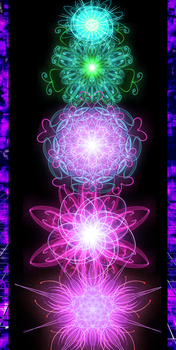 Chakra Energy Flowers by NeoGzus