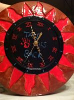 My HetaOni Clock by AnimeLeaderVI