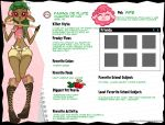 Fawna De Flute Bio Sheet 2015 by Spazzeon