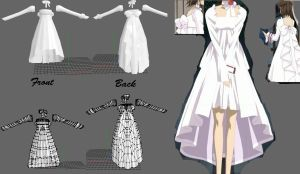 Yuki's dress -Vampire knight- wip 3 by cristle1235