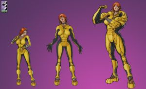 Giganta Grows by muscle-fan-comics