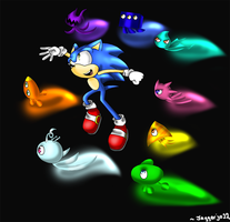 Sonic Colors: Fly my wisps by Jaggerjo12