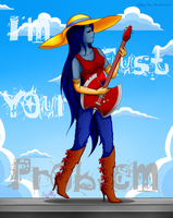 I'm just your problem-Marceline Abadeer by Sydney-Kun