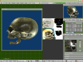New Textured Skull by SEspider
