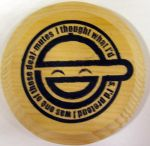 Laughing Man Logo Magnet by akicafe