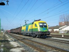 1047 505-1 with freight in Gyor-gyarvaros by morpheus880223