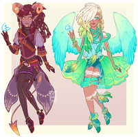 Demon n Angel adopts CLOSED by MMtheMayo